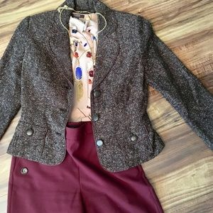 Apt. 9 tweed blazer